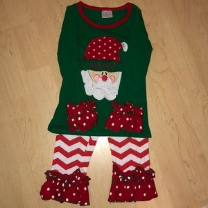 Toddler Christmas outfit XS